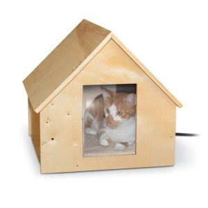 K_H_Pet_Products_Birchwood_Manor_Outdoor_Thermo_Kitty_Home_Heated_Natural_Wood