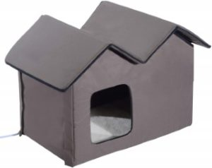 PawHut_Large_Kitty_Home_Indoor_Outdoor_Portable_Water_Resistant_Heated_Cat_Shelter_Front